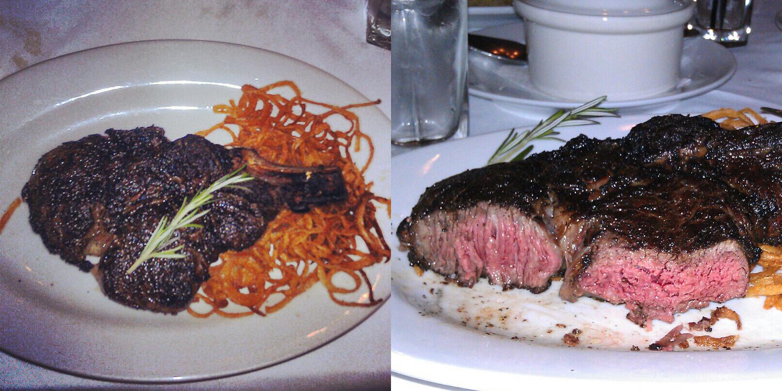 George Martin's Strip Steak