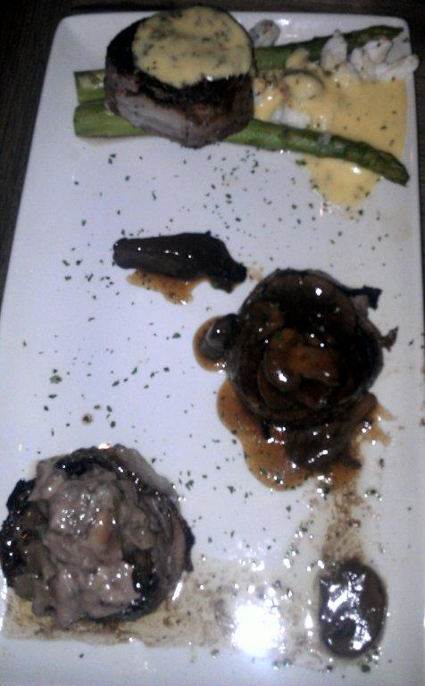 filet trio