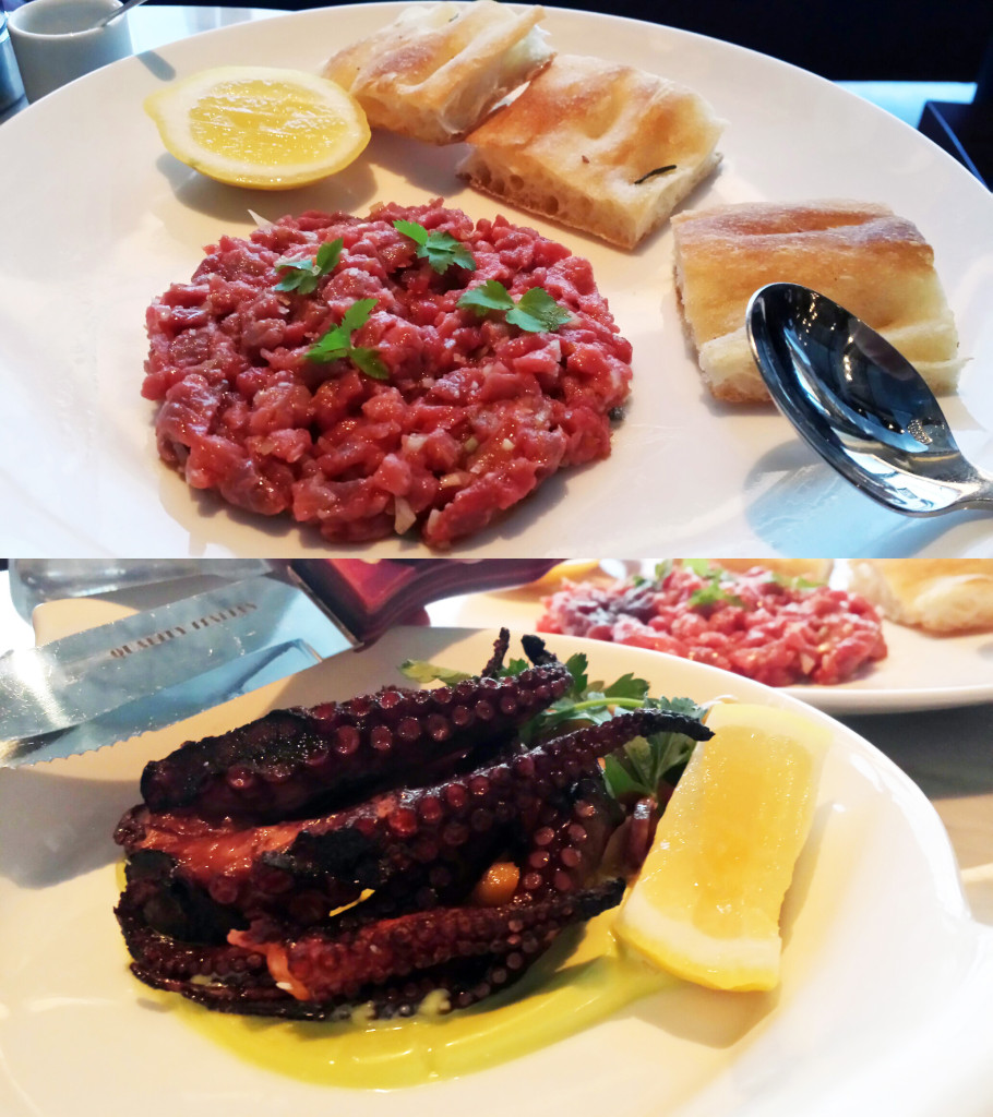 tartare and octo