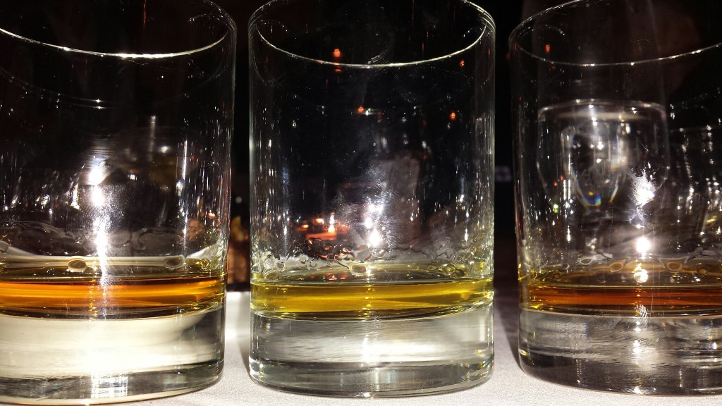 flight of single malts