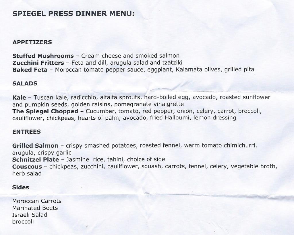 spiegel menu