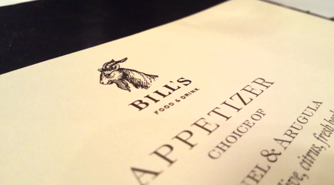 Bill's Food & Drink