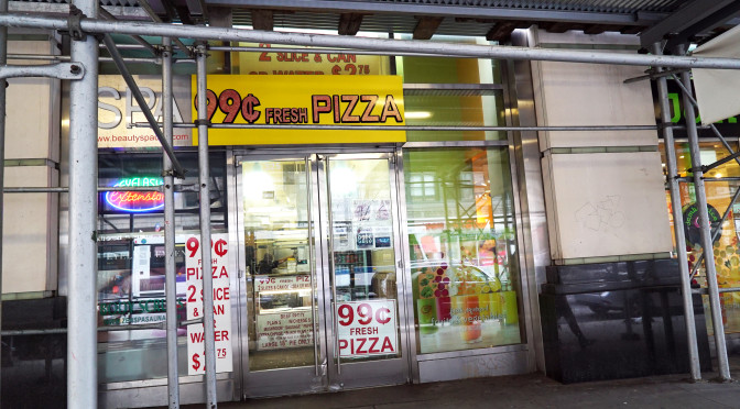 99¢ Fresh Pizza (5th Ave b/w 32nd & 33rd)