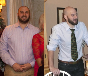 weight loss before & after 2