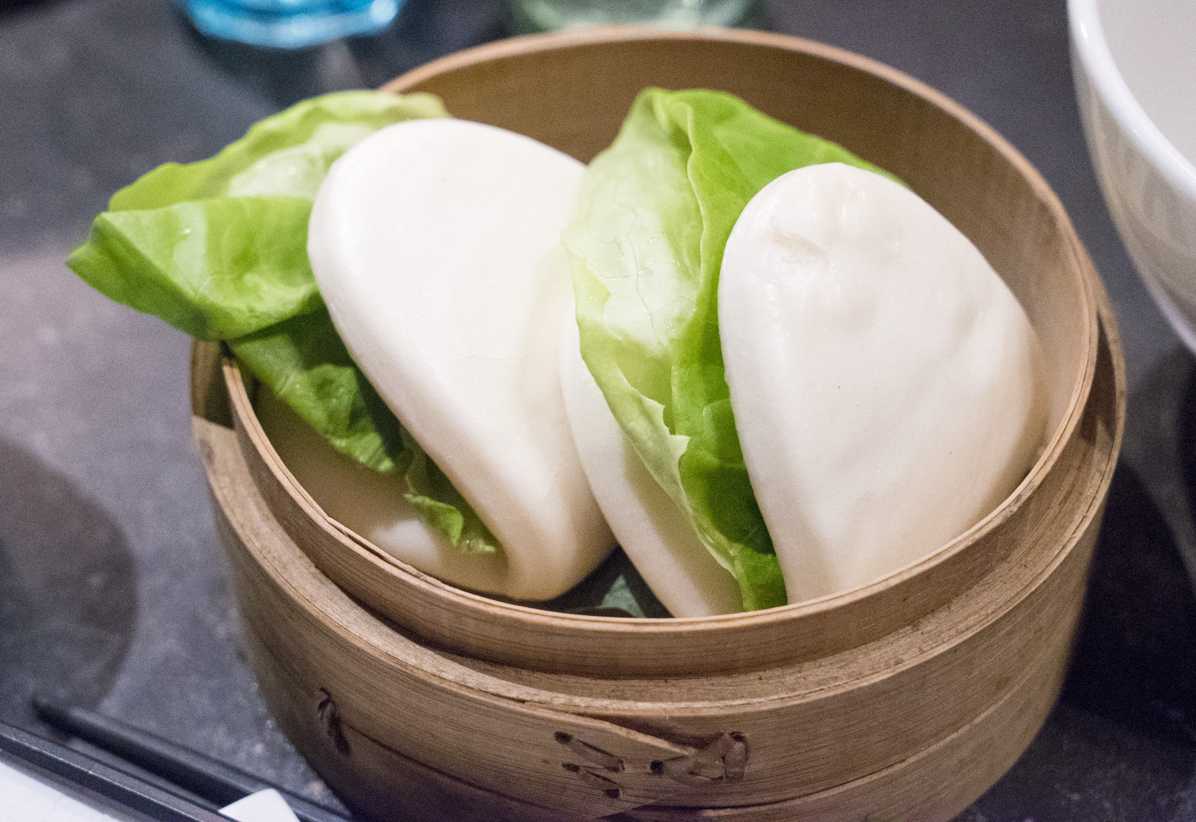 We had a couple of apps too. The pork buns were pretty good, but the ...
