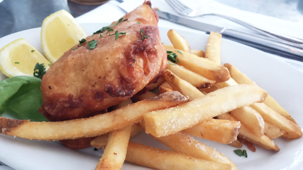 empire diner fish chips