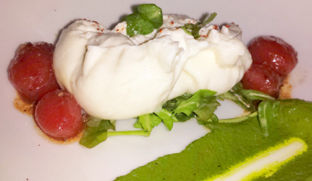 strip house burrata