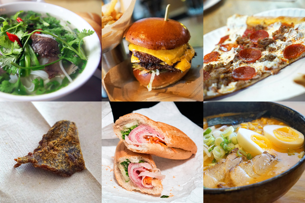 favorite foods collage