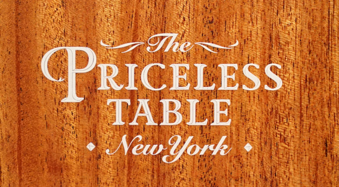 Priceless Table: Carnegie Hall