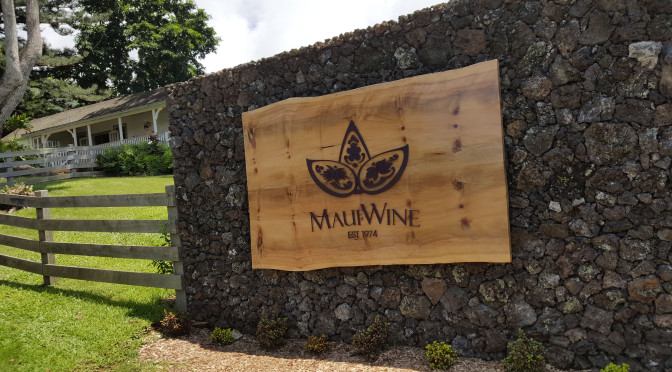 Ulupalakua Vineyard – Maui WIne
