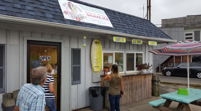 Fire Island Shave Ice