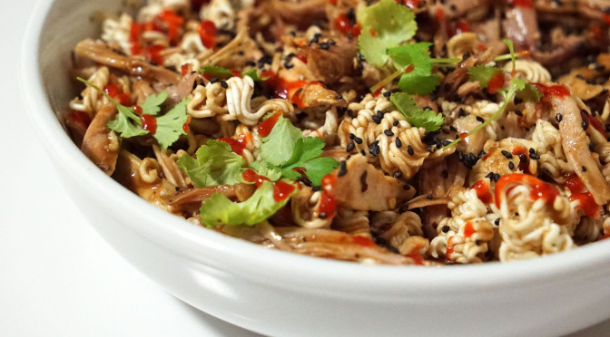 Shredded Turkey Dry Ramen