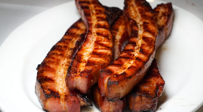 NYC's Best Steakhouse Bacon