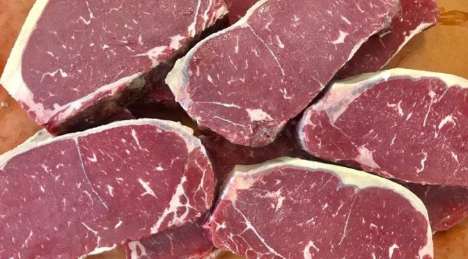 BUTCHER SHOP SALE: PIEDMONTESE STRIPS!