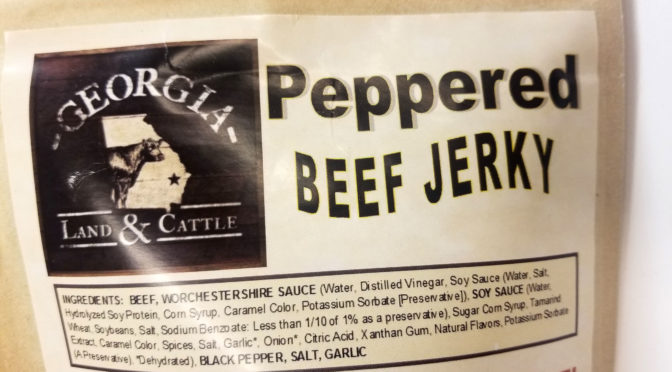 Georgia Land & Cattle Jerky